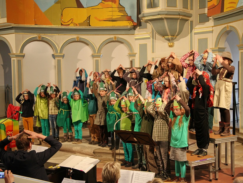 kinderchor bad arolsen israel in ägypten